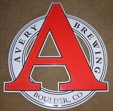 AVERY BREWING COMPANY Maharaja Boulder METAL TACKER SIGN craft beer brewery