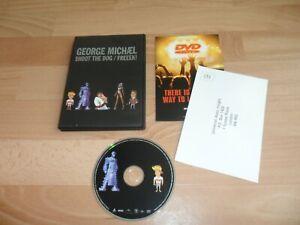 GEORGE MICHAEL - SHOOT THE DOG / FREEEK (VERY RARE 2 TRACK DVD SINGLE -2002)WHAM