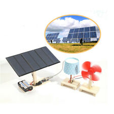 3W 5V Solar Panel Power Electricity Generator Kit Educational Learning Toy