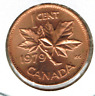 1979 Canadian Uncirculated One Cent Elizabeth II Coin!