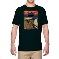 Men's T-shirt Funny Bear Graphic Tee Shirt Cotton Short Sleeve Pattern Top
