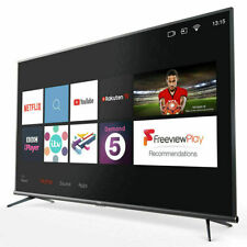 TLC 55 Inch Slim Smart TV 3.0 Pure Image 4K Ultra HD HDR PRO with Freeview Play