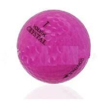 100 AAA+ Volvik Crystal Used Golf Balls Mix Colors | Recycled Golf Balls
