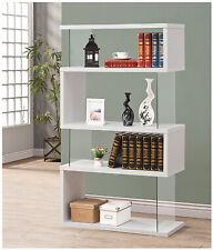Coaster Bookcase in White Finish 800300
