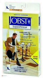 Jobst Mens Stocking 8-15 Compression - 3 pairs