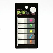 Note Memo Pad Sticky Removable Page Marker Index Tabs Flags Sticky100 Sheets New