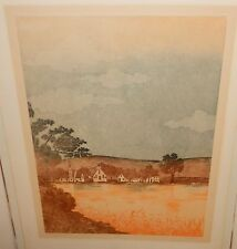 "JAY ""VALLEY TWLIGHT"" LIMITED SIGNED HUGE ETCHING"