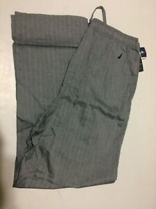 Nautica SleepWear Bottom Pants For Mens L Gray NWT 100% Cotton