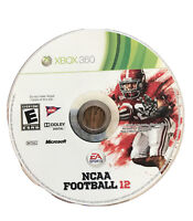 NCAA Football 12 Xbox 360 Kids Game Disc 55e College Alabama Crimson Tide