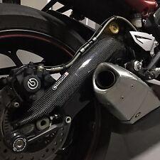 TRIUMPH Daytona 675 R 2013-2017 Carbon Fiber Swingarm Covers Protectors Guards