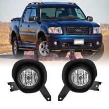 Winjet 01-03 Ford Explorer Sport 01-05 Sport Trac Replacement Fog Light w/ Bulbs