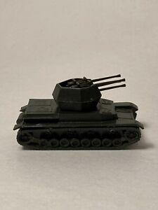 ROCO DBGM Minitanks German 20mm quad Wirbelwind Panzer IV tank, HO / 1:87 scale