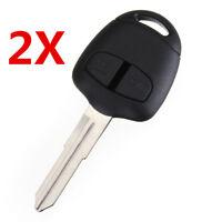 2X Car Remote Key Fob Shell Case for MITSUBISHI Grandis Outlander Lancer IV-IX