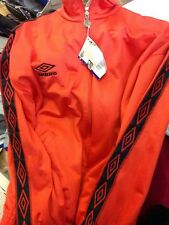 UMBRO PRO TRAINING JACKET SMALL mens at £14 rrp £39.99 POLYESTER LIME OR ORANGE
