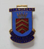 Glamorgan County bowling Association Enamel Badge