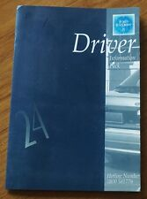 FORD CARS 24 Hour Test Drive Empty Folder 1990s