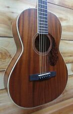 New Fender® PM2 Parlor NE All Mahogany Acoustic Guitar Natural w/Case