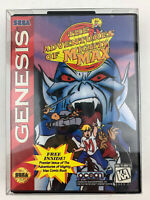 The Adventures Of Mighty Max Sega Genesis Game Complete CIB Tested Works