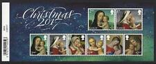 GREAT BRITAIN 2017 CHRISTMAS MINIATURE SHEET WITH BARCODE UNMOUNTED MINT, MNH