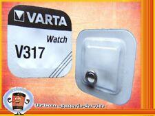 100 x Varta V317 SR516SW SR516 SR62 1,55V piles bouton oxyde d'argent Batterie