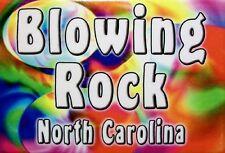 Blowing Rock North Carolina Tye Die Fridge Magnet