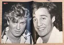BRAVO POSTER Wham - George Michael - Duran Duran - 80er Jahre !!!