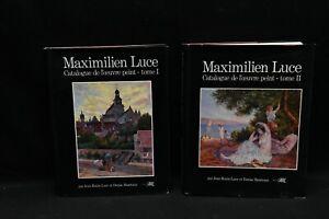 Livre Catalogue raisonné Maximilien Luce Tome 1 et 2- Rare