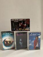 Jean Michel Jarre 4 X cassette tapes Job Lot Bundle Play Tested 👍