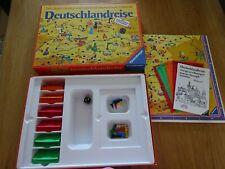 Deutschlandreise 1977, Ravensburger, Spielesammlung auflösen