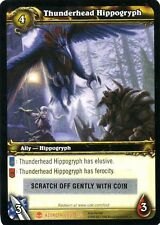 WOW Thunderhead Hippogryph LOOT CARD UNSCRATCHED NEW - WORLD OF WARCRAFT