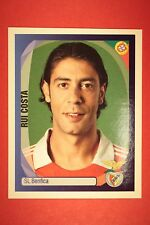 PANINI CHAMPIONS LEAGUE 2007/08 N. 69 RUI COSTA BENFICA WITH BLACK BACK MINT!!