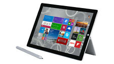 "New Microsoft Surface 3 10.8"" 1080P Intel Quad Core 64GB Silver Win 10 Office365"