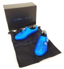 Shimano RC9B S-Phyre Road Bike Shoes, Blue, US 8.9 / EU 43