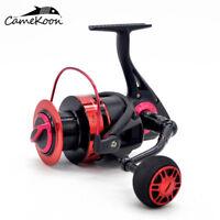 CAMEKOON Spinning Fishing Reel 44LB Carbon Fiber Drag 13BB Smooth Saltwater Reel