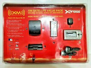 XM Satellite Radio Value Pack Xpress New Sealed Vehicle & Home Kit