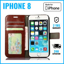 Leather Wallet Flip Case Cover Cas Coque Etui Hoesje Cards Money For iPhone 8