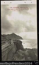 1288.-SAN SEBASTIÁN -8 Monte Igueldo Visto desde el paseo Príncipe de Asturias