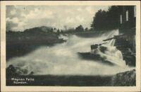 Rawdon Quebec Magnan Falls c1920 Postcard