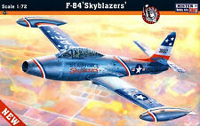 F-84 G THUNDERJET 'SKYBLAZERS' (USAF SPECIAL MARKINGS) #C89 1/72 MISTERCRAFT
