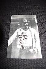 "Eddy ""the Chief"" Clearwater (+) signed autógrafo en 10x17 cm foto inperson Look"