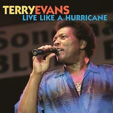 TERRY EVANS - Live Like a Hurricane NEW SEALED CD blues