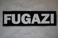 Fugazi Cloth Patch (CP140) Punk Rock
