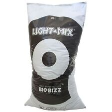 BIOBIZZ LIGHT MIX 50 L LT SUBSTRATO TERRICCIO MEDIUM BIOLOGICO PERLITE