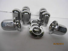 20 LUG NUTS TRUE RAY UNI LUG WHEELS 7/16-20 20 CENTER CHROME WASHERS  CHEVY