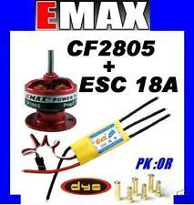 MOTEUR BRUSHLESS CF2805 EMAX + ESC 18A DYS SYSTEM BEC