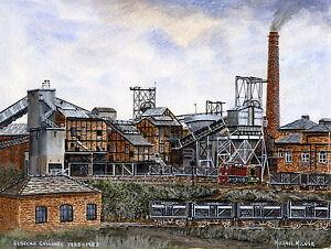 Elsecar Colliery  1905 - 1983 - Ltd Ed Print - Pit Pics - Coal Mining