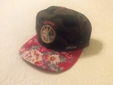 Official Cap Violence Peace Hawaiian Camo Adult Fit Leather Strap New NWOT
