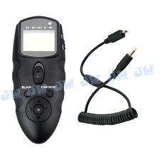 JJC Infrared LCD Timer Remote Control For SIGMA DP1 DP2 DP3 Quattro Camera