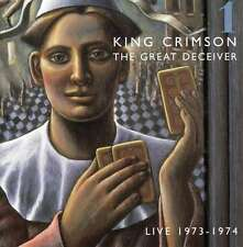 The Great Deceiver 1 Live 73-74 [2 CD] - King Crimson DISCIPLINE