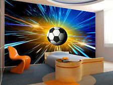 Photo Wallpaper Football. Space GIANT WALL DECOR PAPER POSTER FOR BEDROOM
